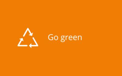 """Go green  – der """"Nachhaltigkeits-Trend"""" hält an"""
